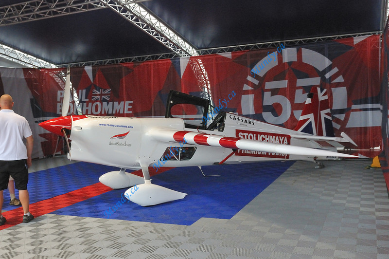 Paul Bonhomme's aircraft ... Edge 540.