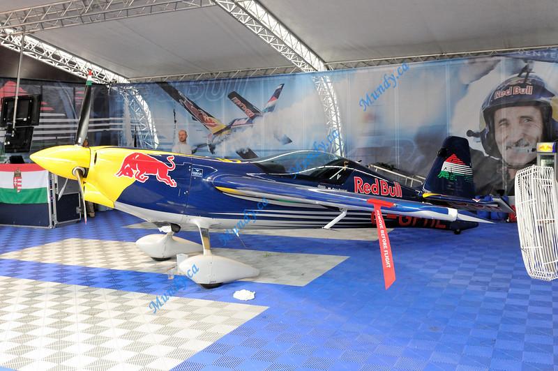 Peter Besenyei's aircraft ... MXS-R.
