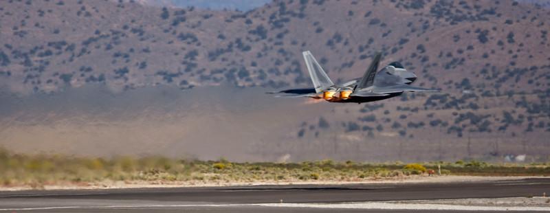F-22 Raptor at Reno Air Races 08