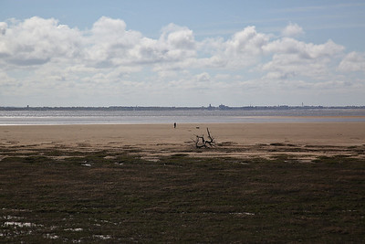 Looking over to Southport from Fairhaven Lake - 23/04/17.