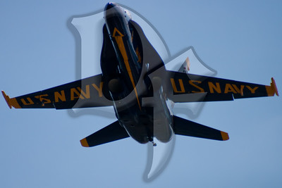 The U.S. Navy Blue Angels perform during the 2011 ESL International Airshow in Rochester, NY.