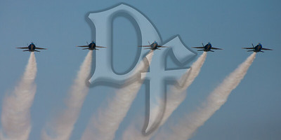 Blue Angels perform during the 2011 ESL International Airshow in Rochester, NY