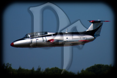 A Czechoslovakian L-29 flies at the 2011 ESL International Airshow in Rochester, NY. This aircraft is owned & operated by Genesee Warbirds. http://www.geneseewarbirds.org/planes/l29/