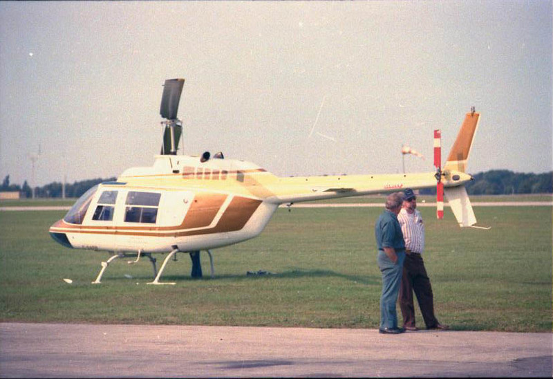 In Hamilton - preparing to take up the film crew for the filming of the maiden flight of the Lancaster.  Ron was so gracious as to put in the dual controls so that I could learn to fly on our many trips together.  He was not only a professional and a natural, but everyone knew how much he loved Jesus.  There was nothing lukewarm about his faith.