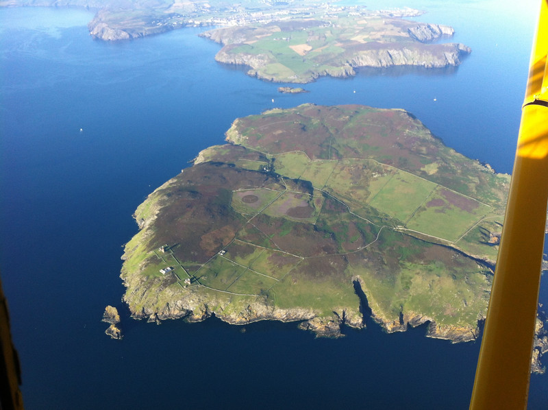 The Calf of Man, with a surprise for air travellers!