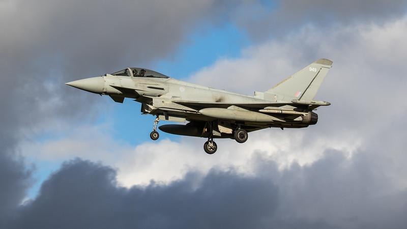 Eurofighter Typhoon - FGR4 - ZJ949 - 949 - RAF Coningsby (November 2020)