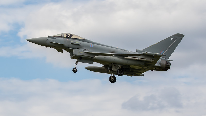 Eurofighter Typhoon - FGR4 - ZK437 - 437 - RAF Coningsby (June 2020)