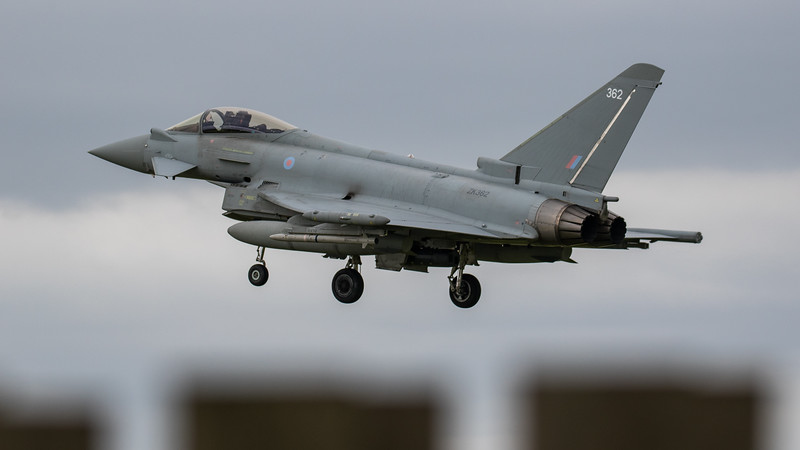 Eurofighter Typhoon - FGR4 - ZK362 - 362 - RAF Coningsby (June 2020)