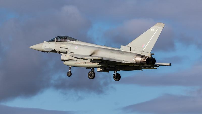 Eurofighter Typhoon - FGR4 - ZJ946 - 946 - RAF Coningsby (November 2020)