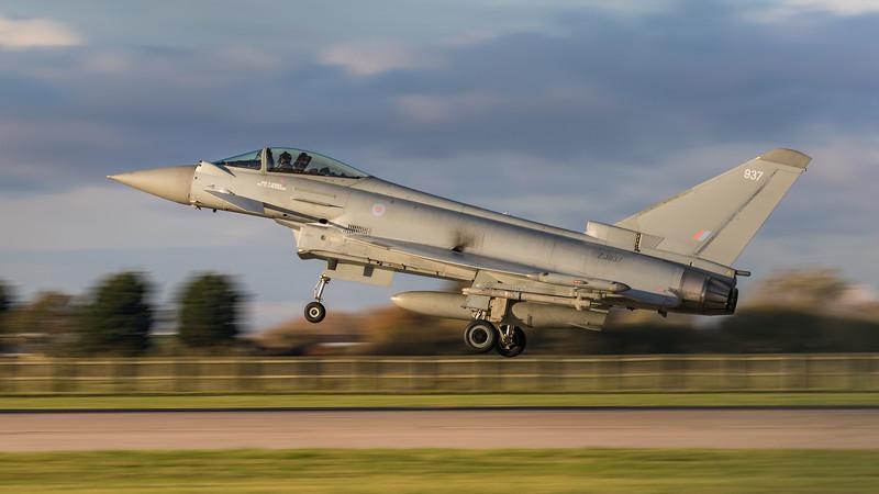 Eurofighter Typhoon - FGR4 - ZJ937 - 937 - RAF Coningsby (November 2020)
