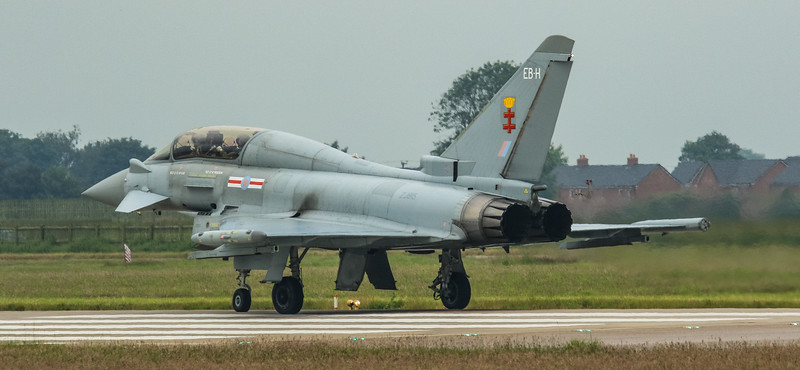 Eurofighter Typhoon - T3 - ZJ815 - EB-H - 41st Sqn - RAF Coningsby (June 2016)