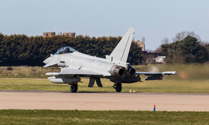 Eurofighter Typhoon - FGR4 - ZK357 - RAF Coningsby (April 2018)