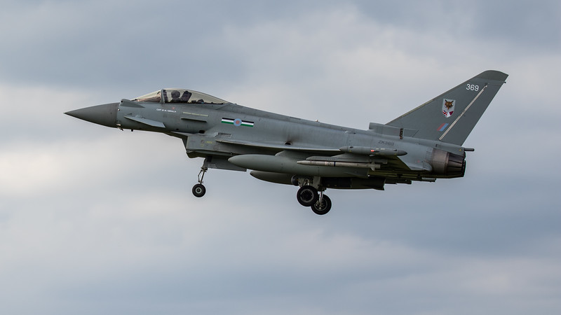 Eurofighter Typhoon - FGR4 - ZK369 - 369 - 12th Sqn - RAF Coningsby (June 2020)