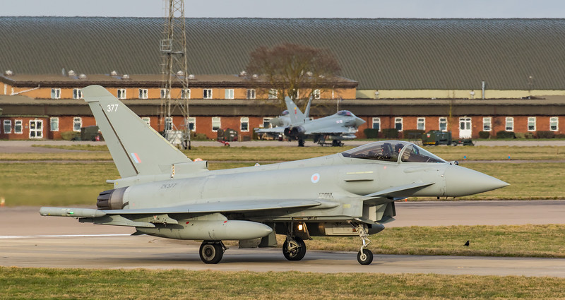 Eurofighter Typhoon - FGR4 - ZK377 - 377 - RAF Coningsby (February 2019)