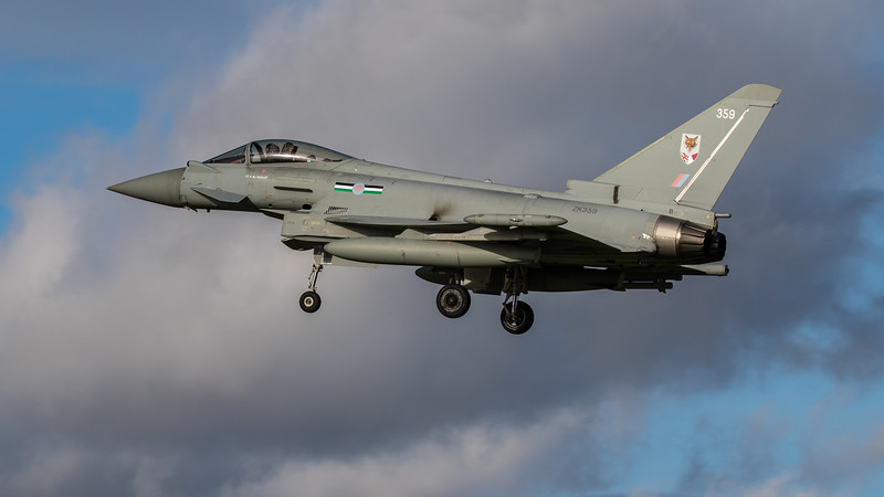 Eurofighter Typhoon - FGR4 - ZK359 - 359 - 12th Sqn - RAF Coningsby (November 2020)