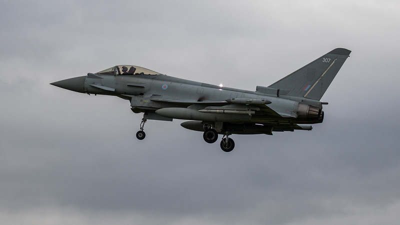 Eurofighter Typhoon - FGR4 - ZK307 - 307 - RAF Coningsby (June 2020)