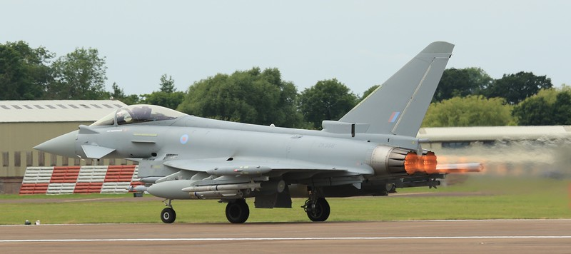 Eurofighter Typhoon - FGR4 - ZK356 - BAE Systems Display - RAF Fairford (July 2016)