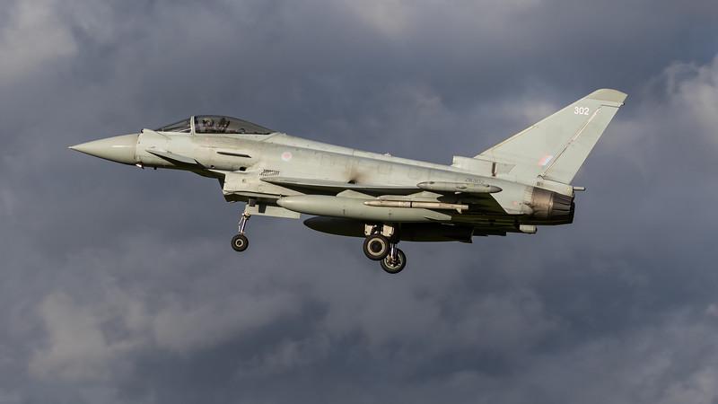 Eurofighter Typhoon - FGR4 - ZK302 - 302 - RAF Coningsby (November 2020)
