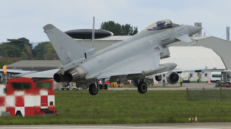 Eurofighter Typhoon - FGR4 - ZJ949 - RAF Coningsby (May 2016)