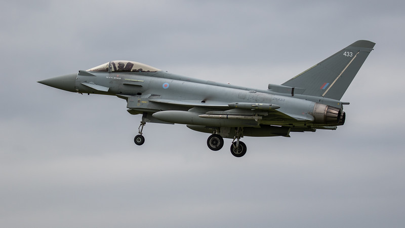 Eurofighter Typhoon - FGR4 - ZK433 - 433 - RAF Coningsby (June 2020)
