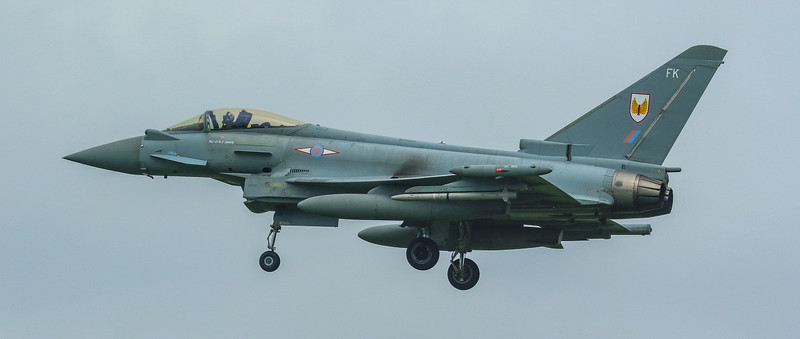 Eurofighter Typhoon - FGR4 - ZK325 - FK - 1st Sqn - RAF Coningsby (June 2016)