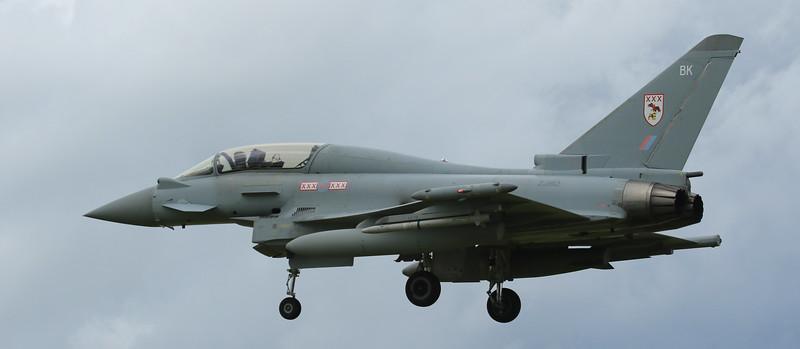 Eurofighter Typhoon - T3 - ZJ812 - BK - 29th Sqn - RAF Coningsby (July 2016)