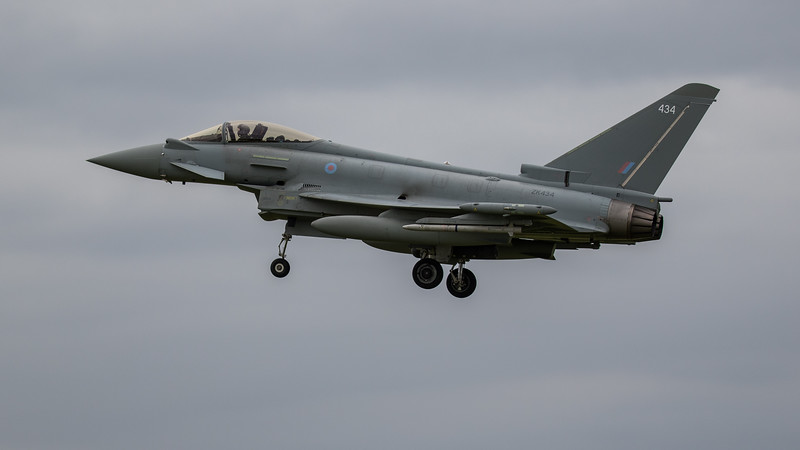 Eurofighter Typhoon - FGR4 - ZK434 - 434 - RAF Coningsby (June 2020)