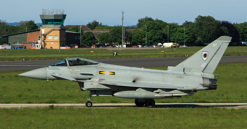 Eurofighter Typhoon - FGR4 - ZJ937 - DT - 11th Sqn - RAF Coningsby (May 2016)