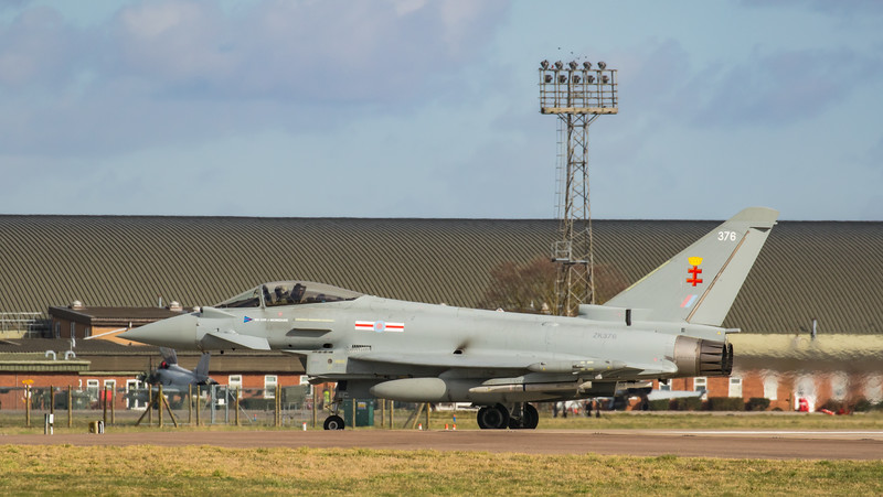 Eurofighter Typhoon - FGR4 - ZK376 - 376 - 41st Sqn - RAF Coningsby (February 2019)