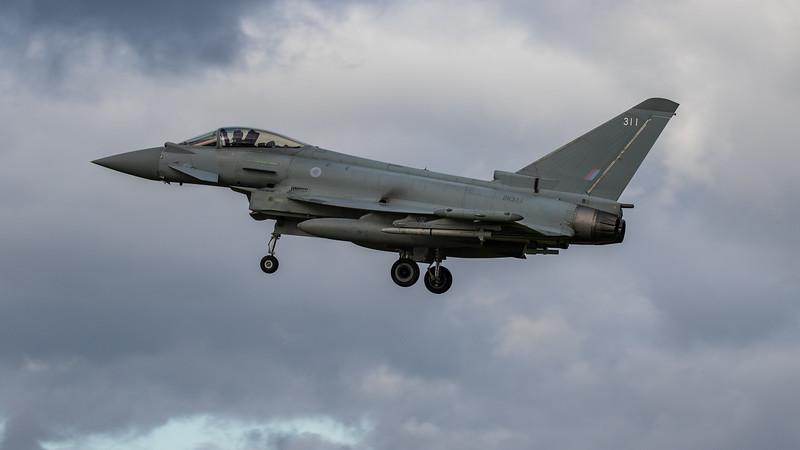 Eurofighter Typhoon - FGR4 - ZK311 - 311 - RAF Coningsby (November 2020)