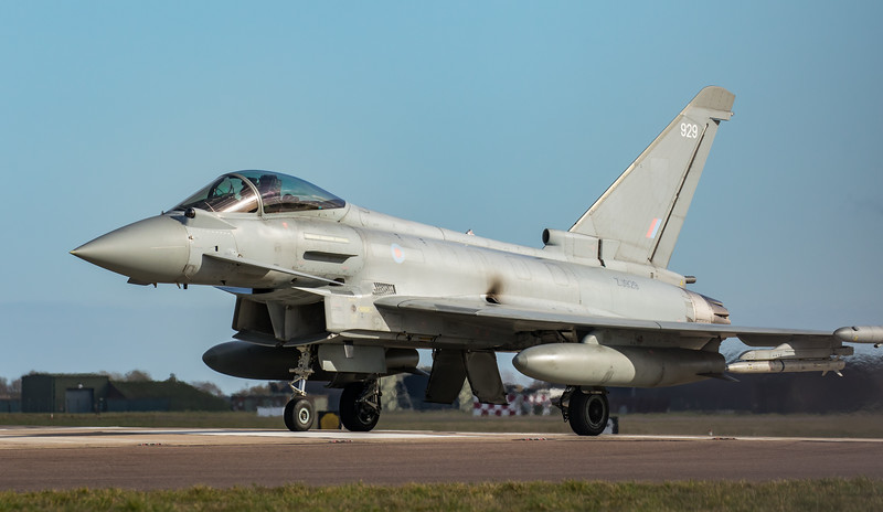Eurofighter Typhoon - FGR4 - ZJ929 -  929 - RAF Coningsby (February 2019)