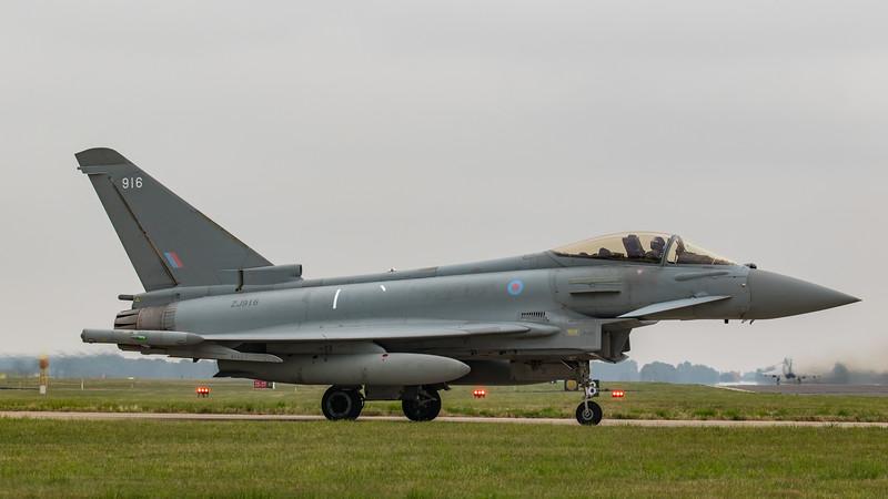 Eurofighter Typhoon - FGR4 - ZJ916 - 916 - RAF Coningsby (September 2018)