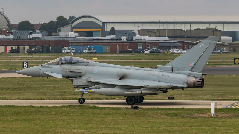 Eurofighter Typhoon - FGR4 - ZK346 - 346 - RAF Coningsby (September 2018)