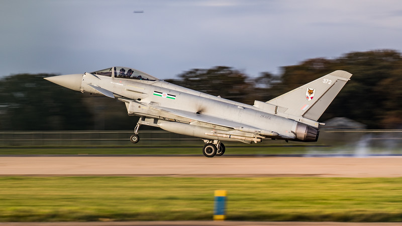 Eurofighter Typhoon - FGR4 - ZK372 - 372 - 12th Sqn - RAF Coningsby (November 2020)