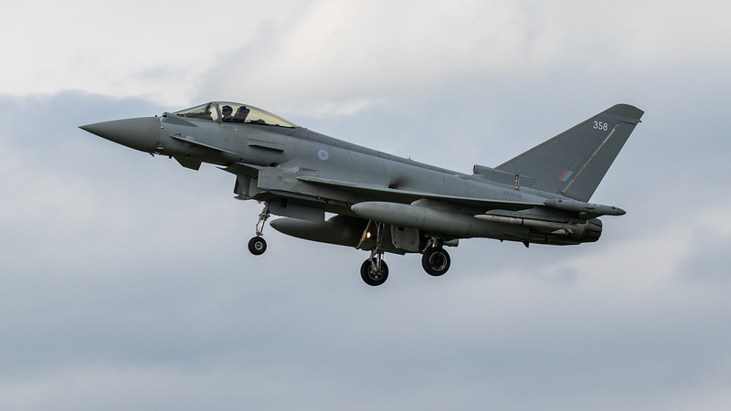 Eurofighter Typhoon - FGR4 - ZK358 - 358 - RAF Coningsby (June 2020)