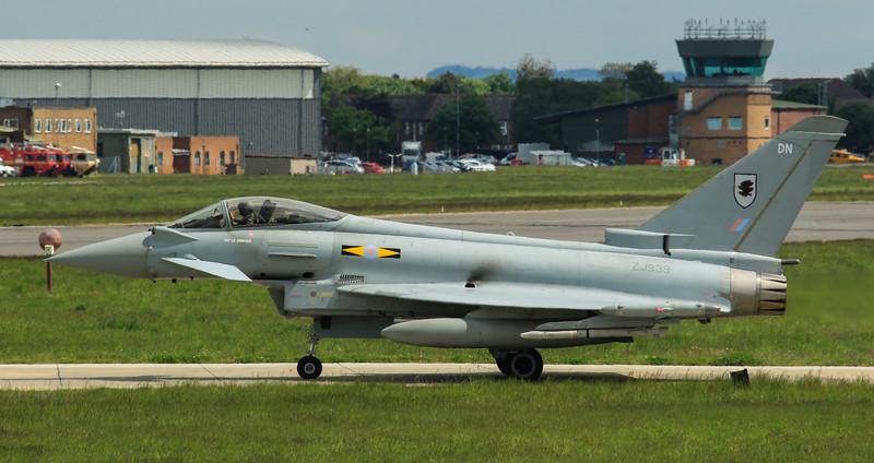 Eurofighter Typhoon - FGR4 - ZJ939 - DN - 11th Sqn - RAF Coningsby (May 2016)