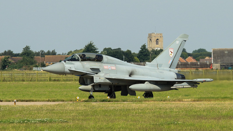 Eurofighter Typhoon - T3 - ZJ807 - BF - 29th Sqn - RAF Coningsby (July 2016)
