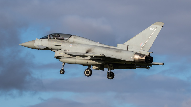 Eurofighter Typhoon - T3 - ZK382 - 382 - RAF Coningsby (November 2020)
