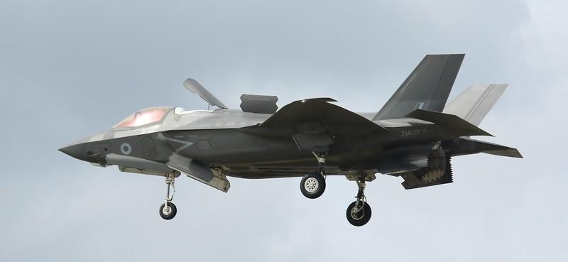 F35 Lightning II - RAF - ZM137 - RAF Fairford (July 2016)