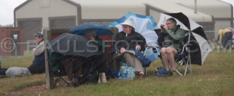 Another rainy day at RIAT!