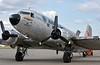 Douglas DC-3C N12BA, MAKS airshow, Zhukovsky Air Base, near Moscow, Russia, 28 August 2015 2.