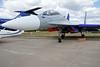 Gromov Flight Research Institute Sukhoi Su-30 blue 597, MAKS airshow, Zhukovsky air base, Ramenskoye, near Moscow, 28 August 2015.