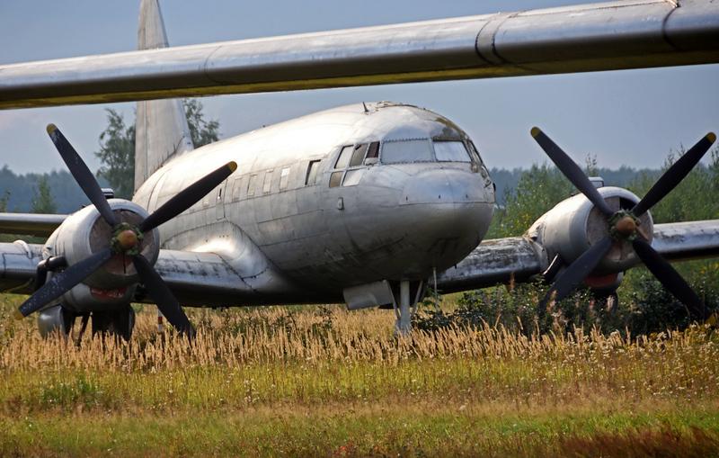 Unidentified Ilyushin Il-12, Russian Air Force Museum, Monino, 27 August 2015
