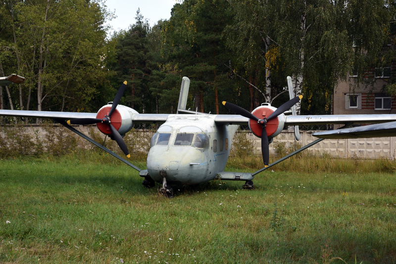 Antonov An-14 Pchelka (= Little bee) 01 red, Russian Air Force Museum, Monino, Moscow, 27 August 2015.