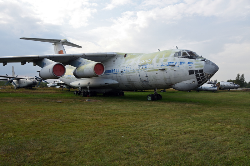 Aeroflot Ilyushin Il-76M CCCP - 86047, Russian Air Force Museum, Monino, Moscow, 27 August 2015 2.