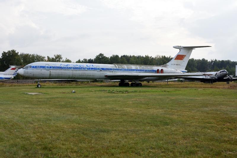 Aeroflot Ilyushin IL-62 CCCP - 86670, Russian Air Force Museum, Monino, Moscow, 27 August 2015.