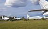 Airliners, Civil Aviation Museum, Ulyanovsk, Russia, 1 September 2015.  Tupolev Tu-154B CCCP - 85061 (left), Ilyushin Il-62M RA - 86507 & Tupolev Tu-134A CCCP - 65748.