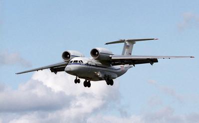 Russian aircraft at Farnborough, 1992