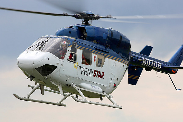 Medevac Helicopter; Wings Field; Blue Bell, PA