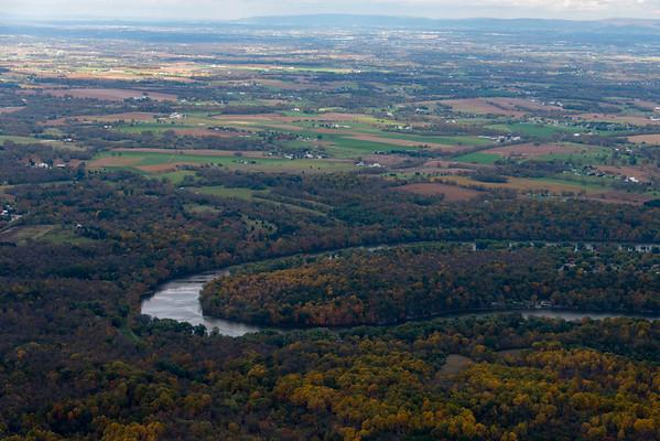 Fall Colors Potomac River 2014